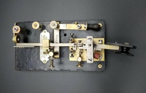 1912 Vibroplex Model X Bug-Telegraph Key - SN 11090