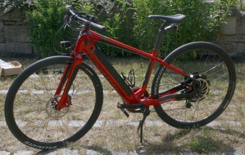 Specialized Turbo S Elektro Fahrrad Pedelec E-Bike rot 28