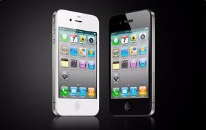 iphone4 s work with company telus kodo public mobile  clean with charger $99