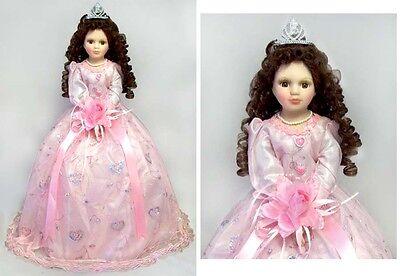 """22"""" Quinceanera Dolls - 15 Dolls - Spanish Dolls  - Pink Dress ( QDoll22 ^*)"""