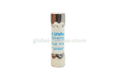 Fluke Fuse Flu 11a 1000v 38mm For F15b F17b Multimeter Littelfuse