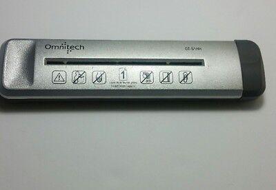OmniTech handheld  Shredder