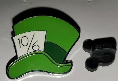 Disney Pin Mad Hatter Hat 10/6  Alice in Wonderland Icons Disney Pin - 10 6 Mad Hatter