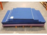 Office Divider Partition/Divider Screen Floor Panels WITHOUT STANDS