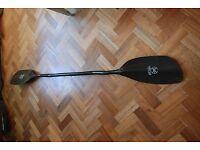 Werner Powerhouse Carbon Cranked Kayak/ Canoe Paddle 189cm RH 45