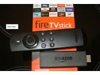 Amazon Fire TV Stick 2nd Generation. Customised (**** COLLECTION ONLY ****)