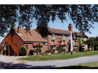 Waiting staff required for friendly rural pub. Full or part time.
