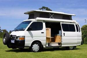 Toyota Hiace Sunliner Automatic Campervan Loaded with Features Albion Park Rail Shellharbour Area Preview