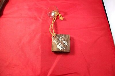 Mystery Wood Piece with Asian Symbols !!