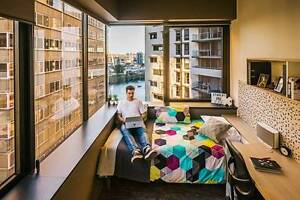 City centre student accommodation with unlimited Wifi from Brisbane City Brisbane North West Preview