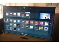 "£489.99 - Samsung 55"" LED Smart Full HD TV WITH adjustable built in camera."
