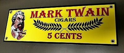 Mark Twain Cigar Cigars Tobacco sign