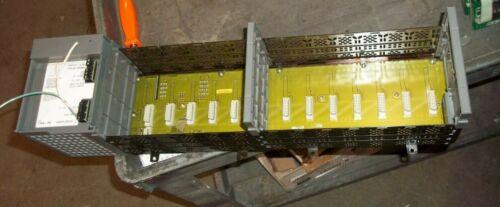 ALLEN BRADLEY 1746-A13 SER B 1746-P4 SER A RACK CHASSIS 13 SLOT POWER SUPPLY(97)