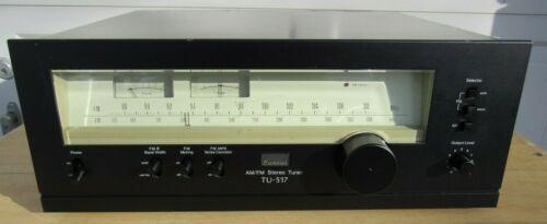 Sansui TU-517 AM/FM Vintage Stereo Tuner Japan Works Great See Full Description