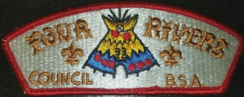 Four Rivers Council shoulder patch CSP s-3 Paducah, Kentucky MERGED BSA OA 499