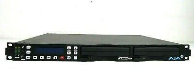 Aja Ki Pro Rack File Based 1RU Recorder / Player - Hdd included - Free Shipping