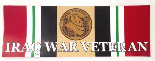 IRAQ WAR VETERAN Military Bumper Sticker BM0476-2 EE