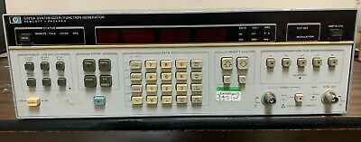 Hp3325a Synthesizerfunction Generator