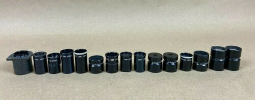 LOT OF 15 MICROFILM PROJECTION LENS