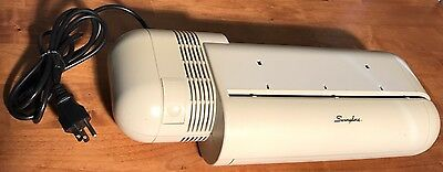 Swingline Commercial Electric 3 Hole Paper Punch Model 535 Tested Working