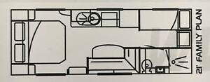 "Family Caravan 21"" Option RV Tornado Equippe"