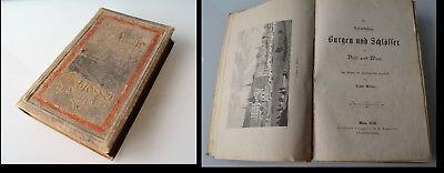 Franz Weller Die kaiserlichen Burgen & Schlösser in Bild und Wort 1880 Erstausg.