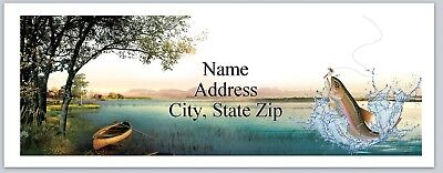 Personalized Address Labels Fishing Buy 3 Get 1 Free P 581