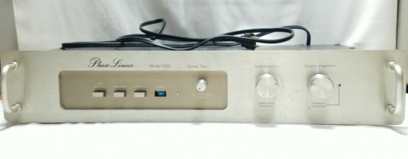 Phase Linear Model 1000 Series 2  Noise Reduction System *Untested