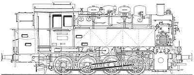 CD mit Musterzeichnungen zum Nachbau einer Lokomotive der Baureihe 81