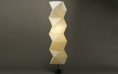 Isamu Noguchi Akari 35N+ST2 Floor Stand Lamp Light Washi Paper w/ LED Bulb NEW