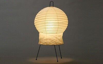 Isamu Noguchi Akari 2N Floor/Table Lamp Washi Paper Japanese Light Handcraft F/S
