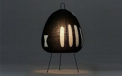 Isamu Noguchi Akari 1AB Floor / Table Lamp Washi Paper Japanese Light Handcraft