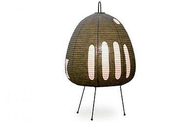 Isamu Noguchi Akari 1AG Floor / Table Lamp Washi Paper Japanese Light Handcraft