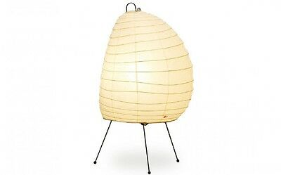 Isamu Noguchi Akari 1N Floor / Table Lamp Washi Paper Japanese Light Handcraft