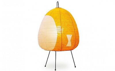 Isamu Noguchi Akari 1AY Floor / Table Lamp Washi Paper Japanese Light Handcraft