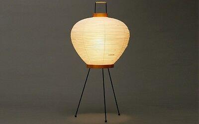 Isamu Noguchi Akari 3A Floor/Table Lamp Washi Paper Japanese Light Handcraft EMS