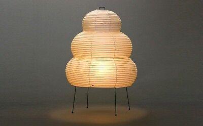 Isamu Noguchi Akari 24N Floor/Table Lamp Washi Paper Japanese Light Handcraft