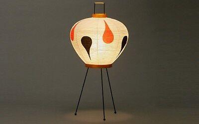 Isamu Noguchi Akari 3AD Floor/Table Lamp Washi Paper Japanese Light Handcraft