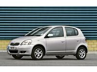 1998-2005 Toyota yaris doors in silver complete with mechanism glass + side mirror breaking facelift