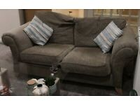Habitat Nearly New 3 seater sofa couch in natural neutral shades. Excellent Condition