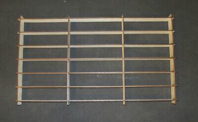 Hot Wheels Hotwheels Matchbox 1/64 1:64 Model Display Shelf Diecast 42 Car WOOD