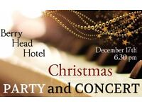 Christmas Party and Concert at the Berry Head Hotel. Light Classics ● Jazz ● Welcome Drink