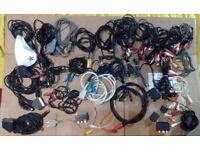 Job Lot Audio Leads / Video Cables / Leads