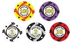 Poker Set 1000 Stuks Keramisch Pokerchips Spades