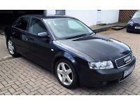 6 MONTHS WARRANTY, MOT 2017, 2003 Audi A4 1.9 Tdi SPORT, Diesel, Concert stereo, TomTom sat nav !!