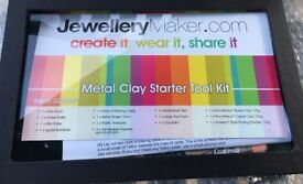 Metal Clay Full Starter Kit boxed and unused. Note; price lowered as exp date on clay not known