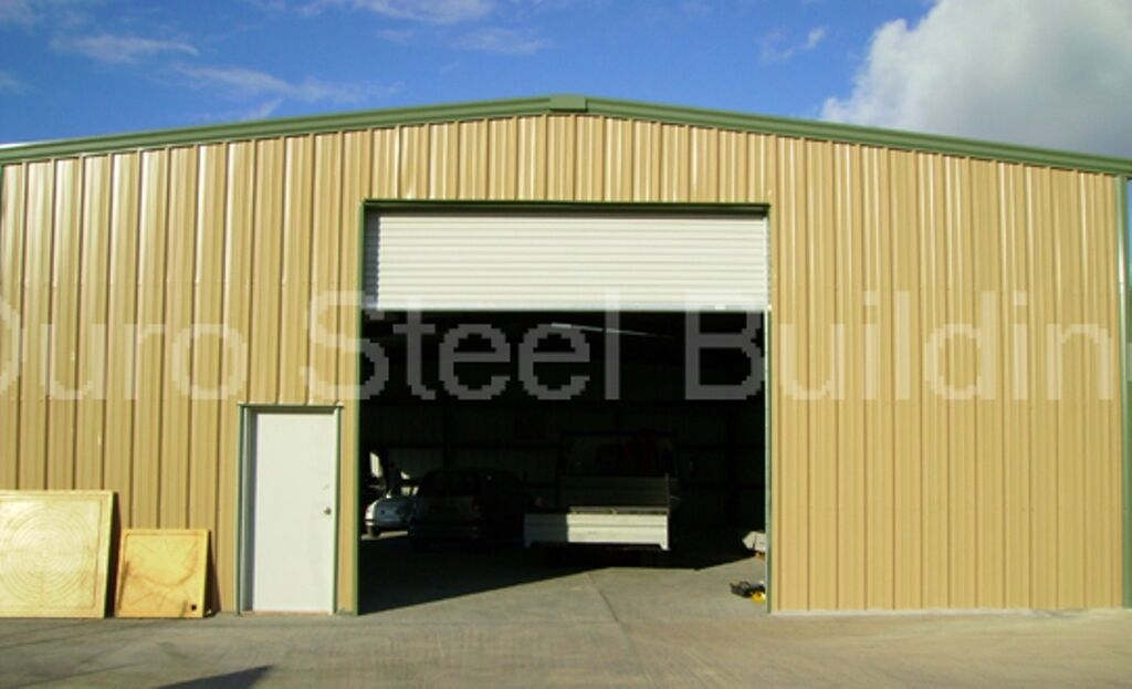 Durobeam steel 40x75x16 metal building kit garage auto for Garage auto 57