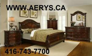 WHOLESALE FURNITURE WAREHOUSE LOWEST PRICE GUARANTEED WWW.AERYS.CA Bed only starts from $129  --- CALL 416-743-7700
