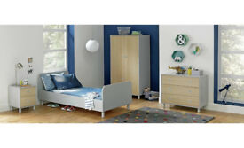 Noah Bed Frame - Grey