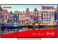 Toshiba 50-Inch Smart 4K Ultra HD HDR LED TV Freeview HD, Freeview Play and Built-in WiFi